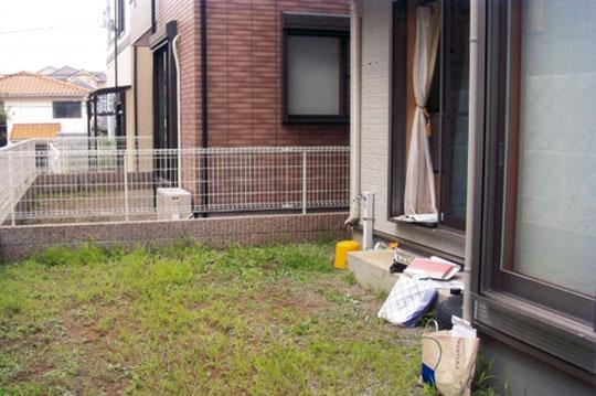 ガーデンルーム 施工 施工前